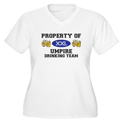 Property of Umpire Drinking Team T-Shirt