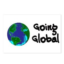 Going Global Postcards (Package of 8)