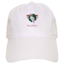 african grey christmas Baseball Cap