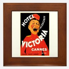 Cannes France Framed Tile