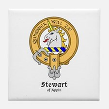 Stewart of Appin Tile Coaster