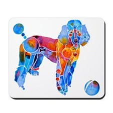 French Poodle Mousepad