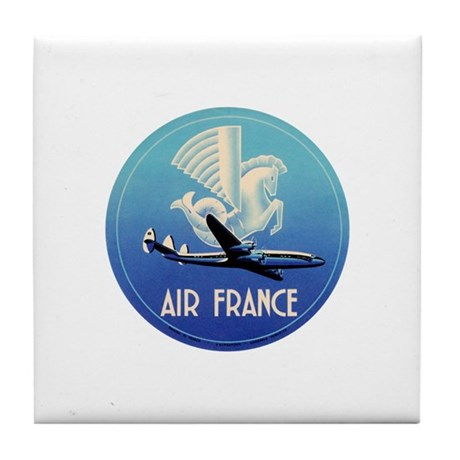 Air france airlines tile coaster by evolveshop for Air france assistance chaise roulante