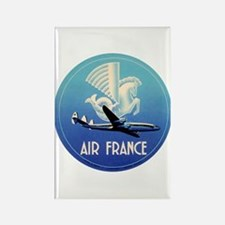Air France Airlines Rectangle Magnet