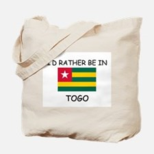 I'd rather be in Togo Tote Bag
