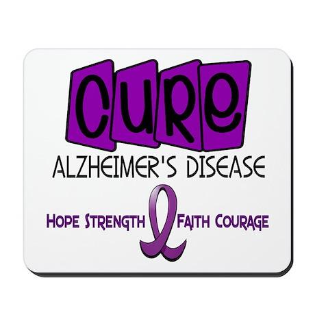 CURE Alzheimer's Disease 1 Mousepad