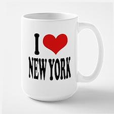 I * New York Large Mug