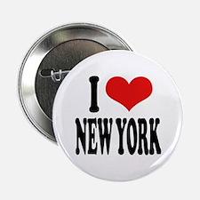 "I * New York 2.25"" Button"