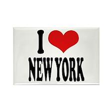 I * New York Rectangle Magnet (10 pack)