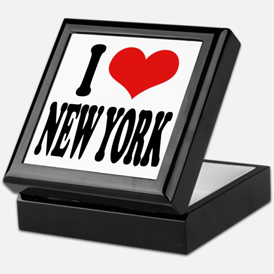 I * New York Keepsake Box