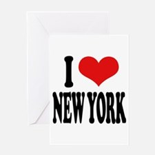 I * New York Greeting Card