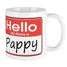 Hello, My name is Pappy Small Mug