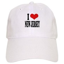 I Love New Jersey Cap