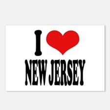 I Love New Jersey Postcards (Package of 8)
