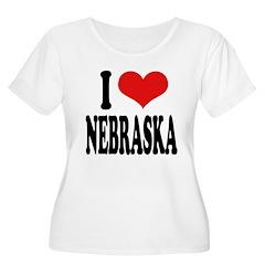 I Love Nebraska T-Shirt