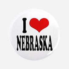 "I Love Nebraska 3.5"" Button"