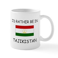 I'd rather be in Tajikistan Small Mug