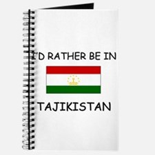I'd rather be in Tajikistan Journal