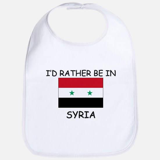 I'd rather be in Syria Bib