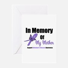 Alzheimer's Memory Mother Greeting Cards (Pk of 10