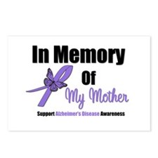 Alzheimer's Memory Mother Postcards (Package of 8)