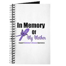 Alzheimer's Memory Mother Journal