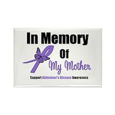 Alzheimer's Memory Mother Rectangle Magnet