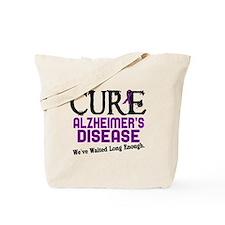 CURE Alzheimer's Disease 3 Tote Bag