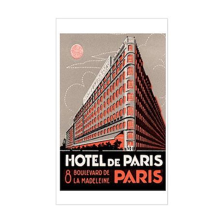 Hotel De Paris France Rectangle Decal By Evolveshop