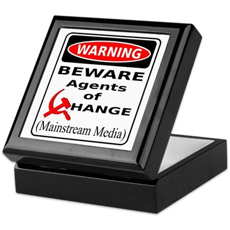 Agents of Change Keepsake Box