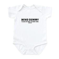 WIND DUMMY Infant Bodysuit