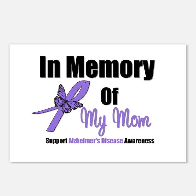 Alzheimer's Memory Mom Postcards (Package of 8)