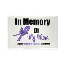 Alzheimer's Memory Mom Rectangle Magnet (10 pack)