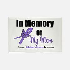 Alzheimer's Memory Mom Rectangle Magnet