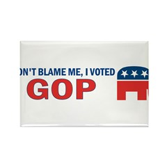 Don't Blame Me I Voted Republ Rectangle Magnet (10