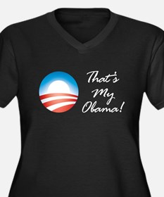 That's My Obama, the Barack O Women's Plus Size V-