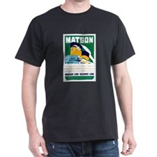 Matson Lines Luggage Label T-Shirt