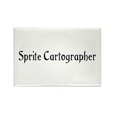 Sprite Cartographer Rectangle Magnet