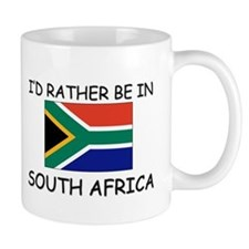 I'd rather be in South Africa Mug