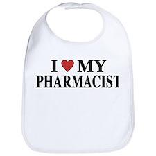 I Love My Pharmacist Bib