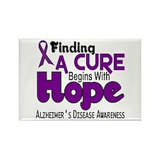 HOPE Alzheimer's Disease 5 Rectangle Magnet