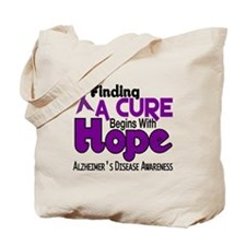 HOPE Alzheimer's Disease 5 Tote Bag