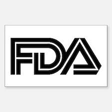 FDA Logo - Rectangle Decal