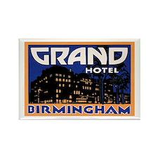 Birmingham England Rectangle Magnet
