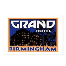 Birmingham England Postcards (Package of 8)