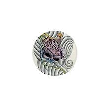 SkullBrain Mini Button
