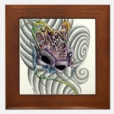 SkullBrain Framed Tile
