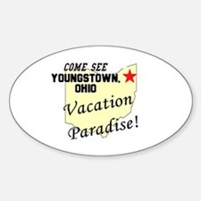 Come See Youngstown, Ohio, Va Oval Decal