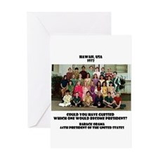 Cute Yes we did Greeting Card