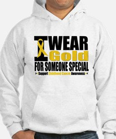 I Wear Gold Someone Special Hoodie